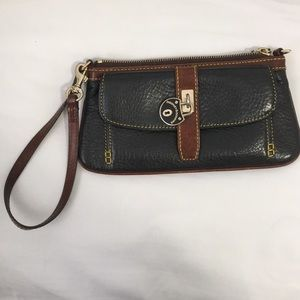 Dooney and Bourke clutch style wristlet/tiny bag